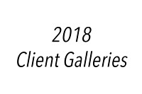 2018 - Client Galleries