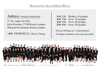 Professional Group Photo Package